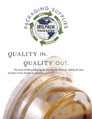 Wilpack Packaging Supplies - Brochure